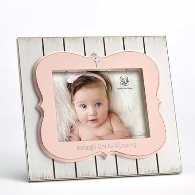 Mommy's Little Blessing Photo Frame, Pink  -