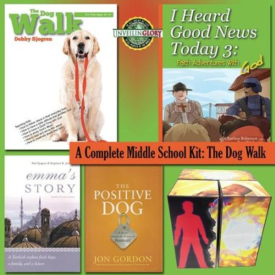 Dog Walk Homeschool Curriculum: Middle School Complete Kit  -
