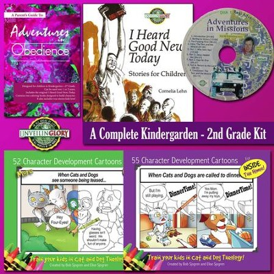 Adventures in Obedience Homeschool Curriculum: Kindergarten - 2nd Grade Complete Kit  -