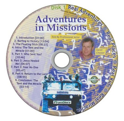 Adventures in Missions Audio CD   -     By: Garet Chester