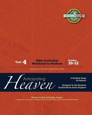 Homeschool Curriculum: High School Year 4 - Heaven Black & White Workbook  -