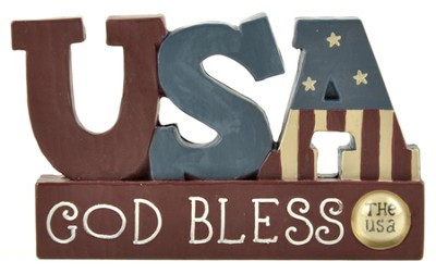 God Bless the USA Figure  -     By: Barbara Lloyd