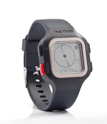 Time Timer: Watch PLUS, Small (Charcoal Gray)   -