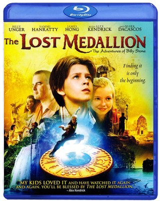 The Lost Medallion Blu-Ray   -