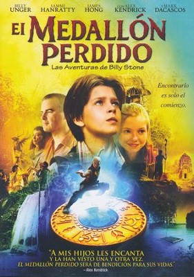El Medallón Perdido  (The Lost Medallion), DVD  -