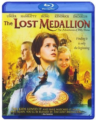 The Lost Medallion, Blu-ray & DVD Set   -