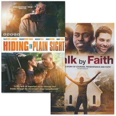 Hiding in Plain Sight & Walk By Faith 2-Pack   -