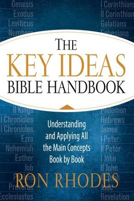 The Key Ideas Bible Handbook: Understanding and Applying All the Main Concepts Book by Book - eBook  -     By: Ron Rhodes