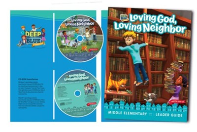 Deep Blue Connects: Loving God, Loving Neighbor Large/Small Group Kit, Winter 2019-20  -