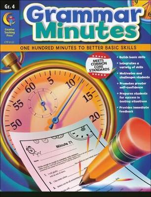 Grammar Minutes Grade 4   -