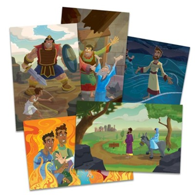 Knights of North Castle: Bible Story Poster Pak  -