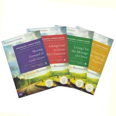 Celebrate Recovery Participant Guide Set (Volumes 5-8)   -     By: John Baker