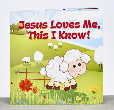 Jesus Loves Me Board Book  -