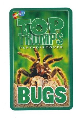 Top Trumps Card Game: Bugs   -