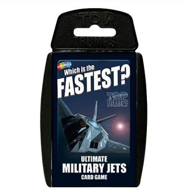 Top Trumps Card Game: Ultimate Military Jets   -