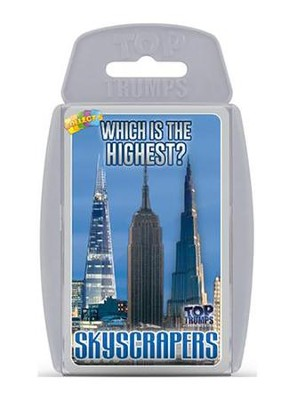 Top Trumps Card Game: Which Building is the Tallest? Skyscrapers  -