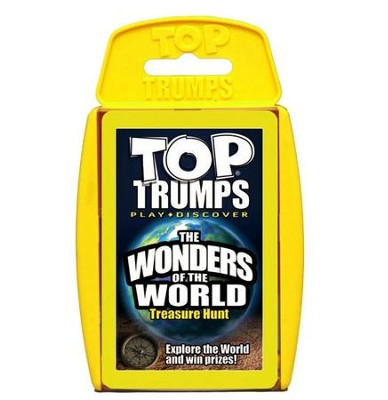 Top Trumps Card Game: Which Do You Want to Explore? The Wonders of the World  -