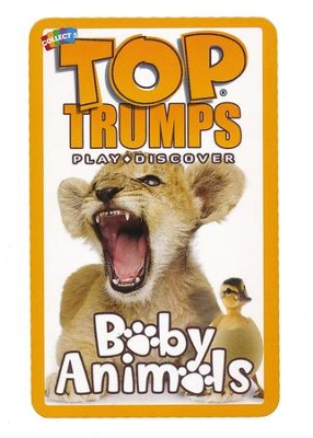 Top Trumps Card Game: Baby Animals   -
