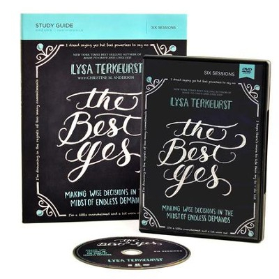 The Best Yes, DVD & Study Guide - BGD   -     By: Lysa TerKeurst