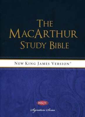 NKJV MacArthur Study Bible, Revised & Updated Edition  -