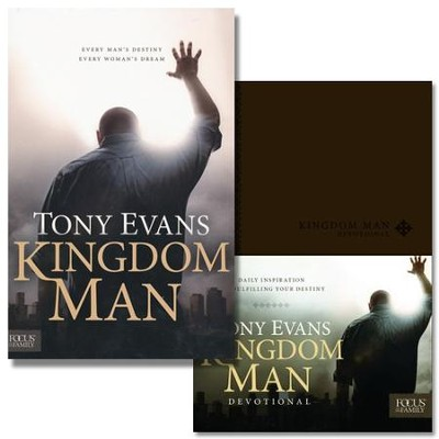 Kingdom Man Book and Devotional   -     By: Tony Evans, Chrystal Evans Hurst