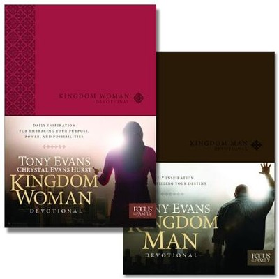 Kingdom Woman and Kingdom Man Devotionals   -     By: Tony Evans, Chrystal Evans Hurst