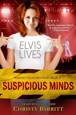 Suspicious Minds: A Novel - eBook  -     By: Christy Barritt