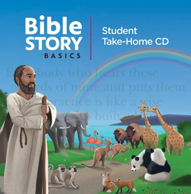Bible Story Basics: Student Take-Home CD (pkg. of 5)    -