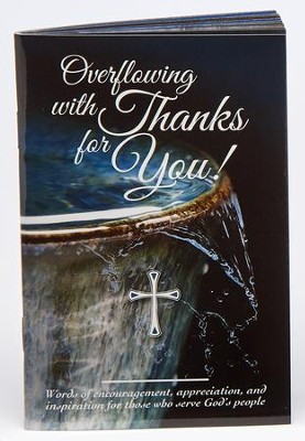 Overflowing with Thanks Devotional  -