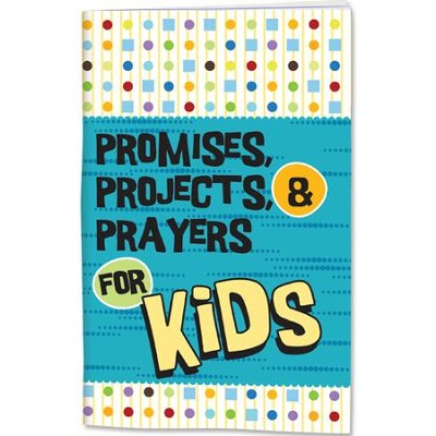 Promises, Projects, and Prayers Activity Journal  -