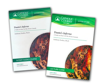 Dante's Inferno Audio Course, A Study on Part 1 of The Divine Comedy   -     By: Anthony Esolen Ph.D.