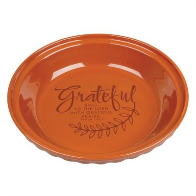 Grateful, Harvest Pie Plate  -