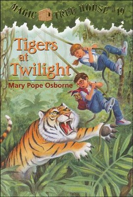 Magic Tree House #19: Tigers at Twilight  -     By: Mary Pope Osborne     Illustrated By: Sal Murdocca