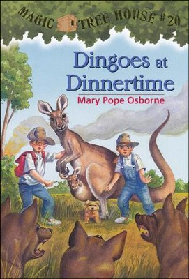 Magic Tree House #20: Dingoes at Dinnertime  -     By: Mary Pope Osborne     Illustrated By: Sal Murdocca