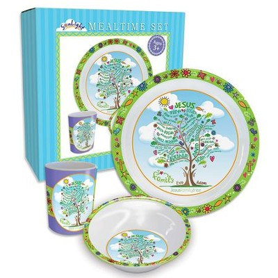 Jesus Family Tree 3-Piece Dinner Set  -
