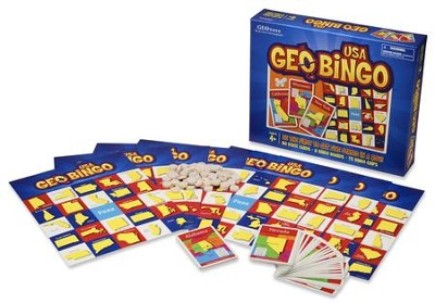 GeoBingo USA Game   -