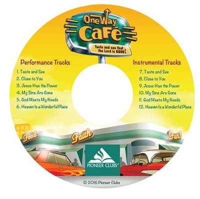 One Way Cafe Music CD (10/pack)   -