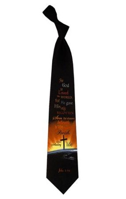 Loved the World, John 3:16 Tie   -