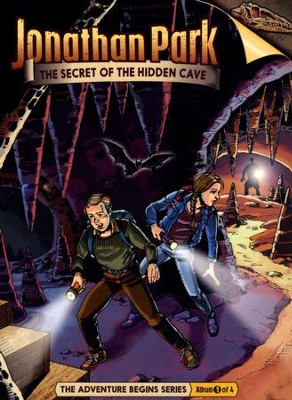 Jonathan Park The Adventure Begins #1: The Secret of the  Hidden Cave Audio CD  -