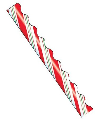 Candy Cane Stripes Terrific Trimmer  -