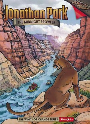 Jonathan Park The Winds of Change #3: The Midnight Prowler  Audio CD  -