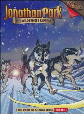 Jonathan Park The Winds of Change #4: The Wilderness Express  Audio CD  -