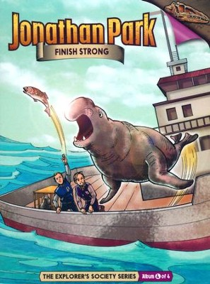Jonathan Park The Explorer's Society #4: Finish Strong Audio  CD  -