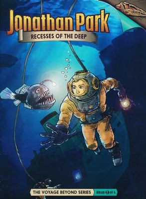 Jonathan Park The Voyage Beyond #2: The Recesses of the Deep  Audio CD  -