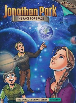 Jonathan Park The Voyage Beyond #3: The Race for Space Audio  CD  -