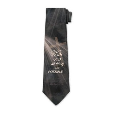 All Things Possible Tie   -