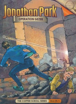 Jonathan Park The Copper Scroll #4: Operation Gezer Audio CD  -