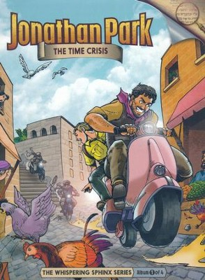 Jonathan Park The Whispering Sphinx #1: The Time Crisis  Audio CD  -