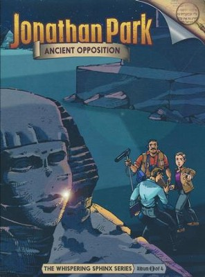 Jonathan Park The Whispering Sphinx #3: Ancient Opposition  Audio CD  -