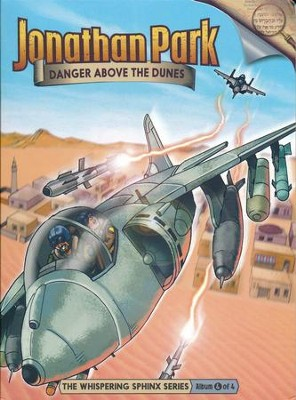 Jonathan Park The Whispering Sphinx #4: Danger Above the  Dunes Audio CD  -